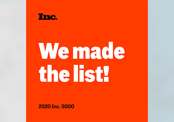 AOT Makes The Inc 5000 List For 2020